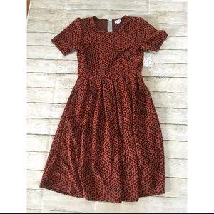 LulaRoe | Amelia Printed Dress NWT